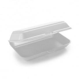 Envase Foam LunchBox Blanco 240x155x70mm (125 Uds)