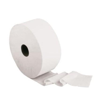 Papel Higienico Industrial 2 Capas 0,45 Kg Pasta 150m (18 Uds)
