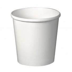 Tarrina de Cartón Blanca para Sopa 16 Oz (25 Uds)