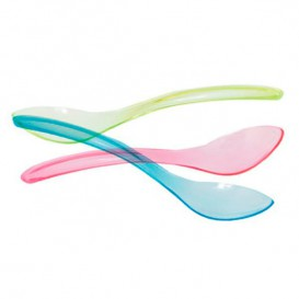Cucharilla Plastico Enfundada para Helados Surtido 147mm (1000 Uds)