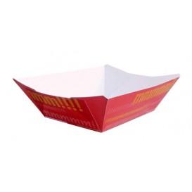 Barqueta 525ml Cartoncillo 12,1x8,1x5,5cm (50 Uds)