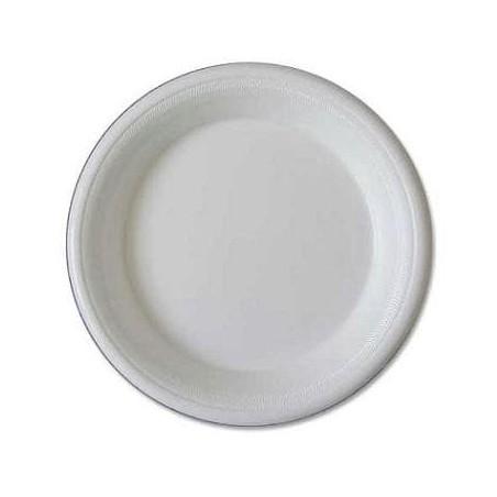 Plato Isotermico Blanco 225 mm (50 unidades)