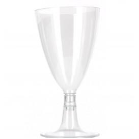 Copa Desechable de Plastico Agua o Vino 140 ml (100 Uds)