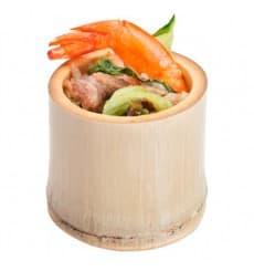 Vaso de Bambu Degustacion Pequeño 5x5x4,5cm (20 Uds)
