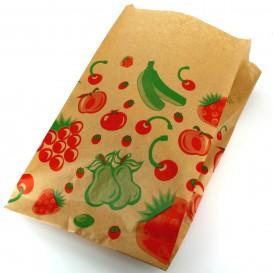 Bolsa Kraft para Fruta 22+12x36cm (100 Uds)