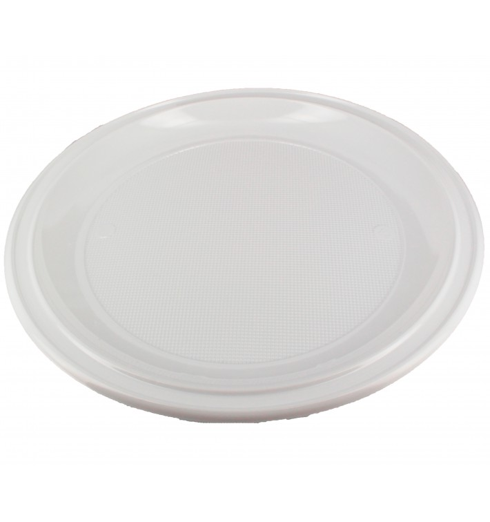 Plato de Plastico PS para Pizza Blanco Ø280 mm (100 Uds)