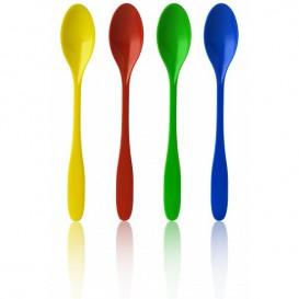 Cucharilla Plastico para Helados Surtido 175mm (250 Uds)