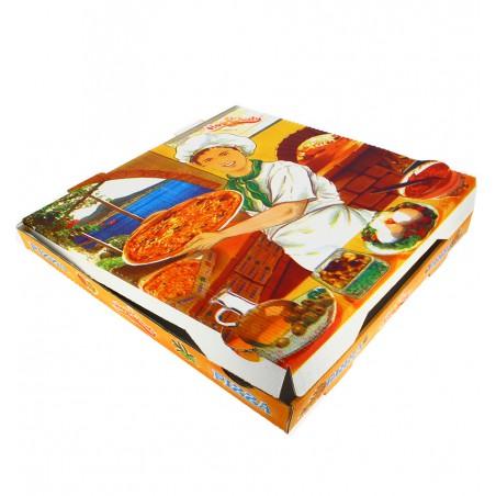 Cajas para Pizza 30x30x4 Vegetal (100Uds)