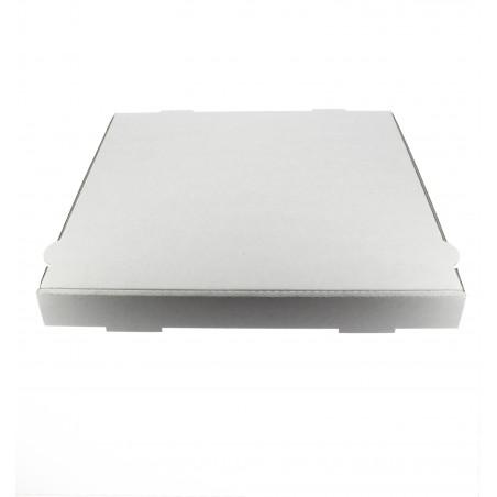 Caja Carton Blanca 40x40x4,2 cm (100 Uds)