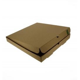 Caja Carton Kraft 30x30x3,5 cm (100 Uds)