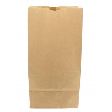 Bolsa de Papel Sin Asas Kraft 18+12x29cm (25 Unidades)