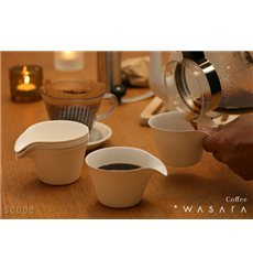Vaso Wasara Coffee Cup Biodegradable 150 ml (50 Uds)