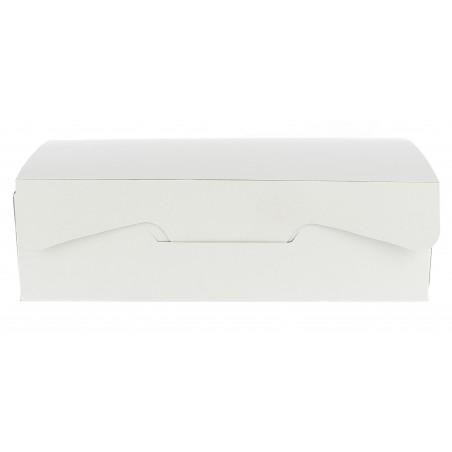 Caja Pasteleria Carton 25,8x18,9x8cm 2Kg. Blanca (20 Uds)