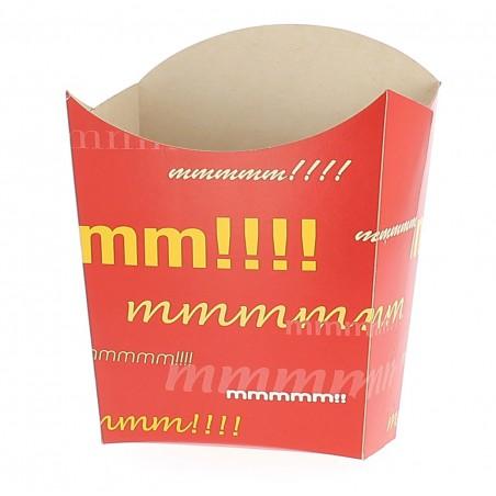 Caja para Fritas Mediana 8,2x3,5x12,5cm (50 Uds)