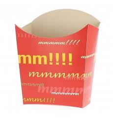 Caja para Fritas Mediana 8,2x3,5x12,5cm (25 Uds)