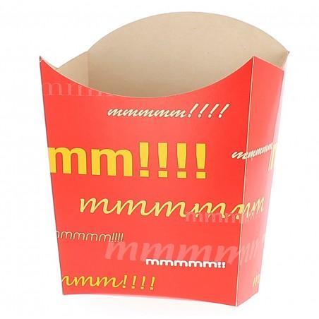 Caja para Fritas Grande 8,2x3,3x14,9cm (40 Uds)