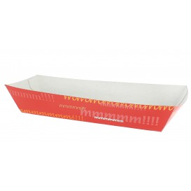 Barqueta Hot Dog 17,0x5,5x3,8cm (25 Uds)