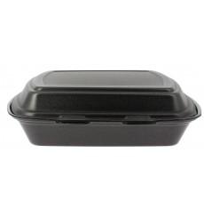 Envase Foam MenuBox 1C. Negro 240x210x70mm (125 Uds)