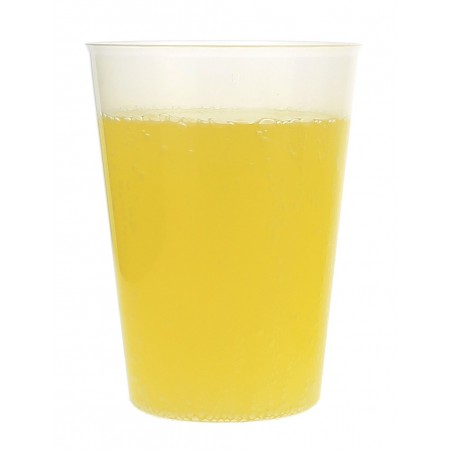 Vaso de Plastico Sidra 500cc PP Transparente (500 Uds)