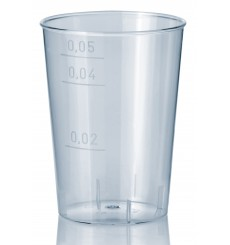 Vaso Inyectado Transparente PS 50 ml (40 Uds)