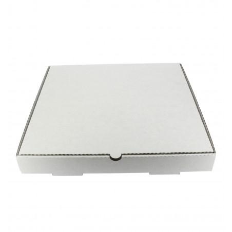 Caja Carton Blanca 30x30x4 cm (100 Uds)