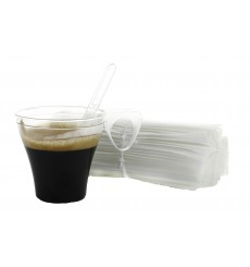 Paletina Enfundada Cafe 105mm Transp. (2.500 Uds)