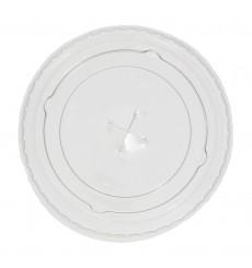 Tapa Plana Cruz para Vaso PP 300ml Ø7,4cm (125 Unidades)