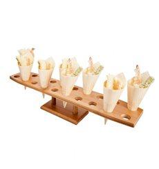 Stand de Bambú para Cucurucho 20 Huecos (1 Uds)