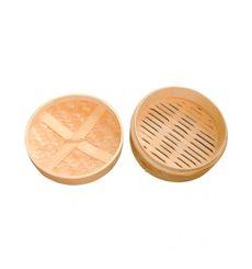 Tapa Vaporera Maxi de Bambú Ø20cm (4 Uds)