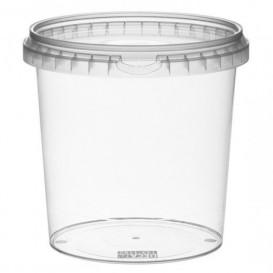 Envase de Plastico redondo inviolable 1180 ml Ø13,3 (90 Uds)