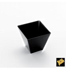 Vaso Degustacion Rombo Negro 95 ml (25 Uds)