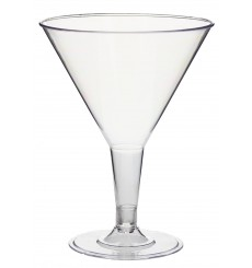 Copa de Plastico Transparente 215ml 2P (25 Uds)