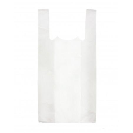 Bolsa Plastico Camiseta 25x30cm Blanca (200 Unidades)
