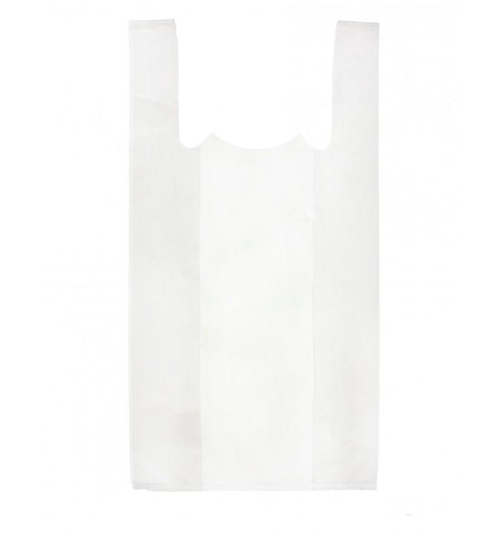 Bolsa Plastico Camiseta 30x40cm Blanca (200 Uds)