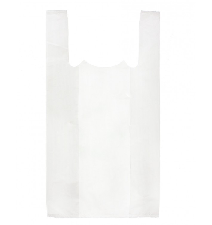 Bolsa Plastico Camiseta 35x40cm Blanca (200 Unidades)