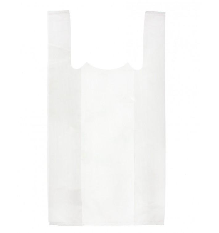Bolsa Plastico Camiseta 35x50cm Blanca (200 Uds)