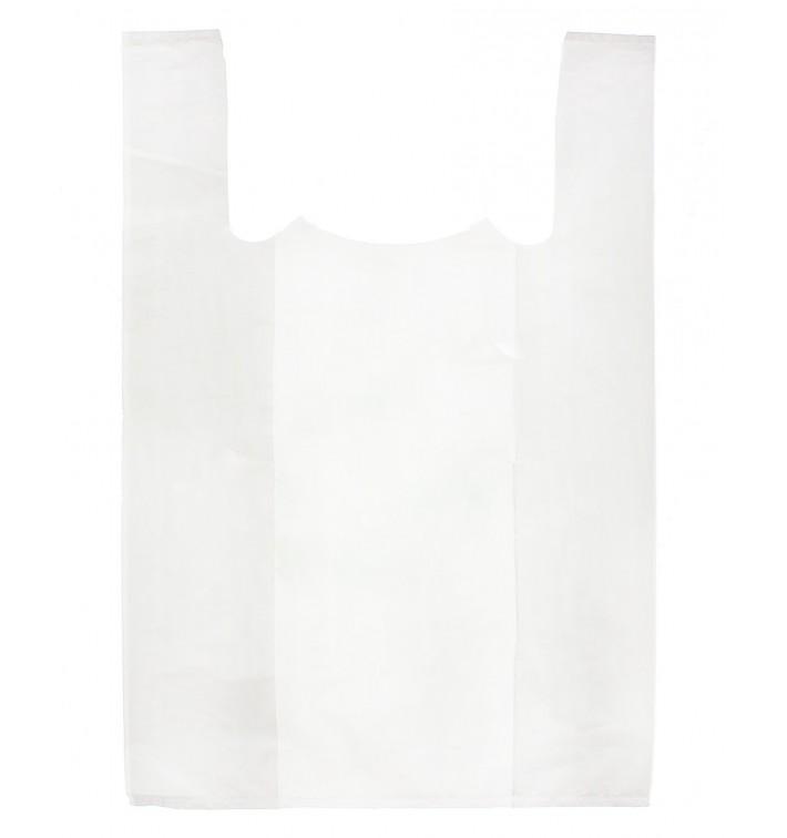 Bolsa Plastico Camiseta 70x80cm Blanca (100 Unidades)
