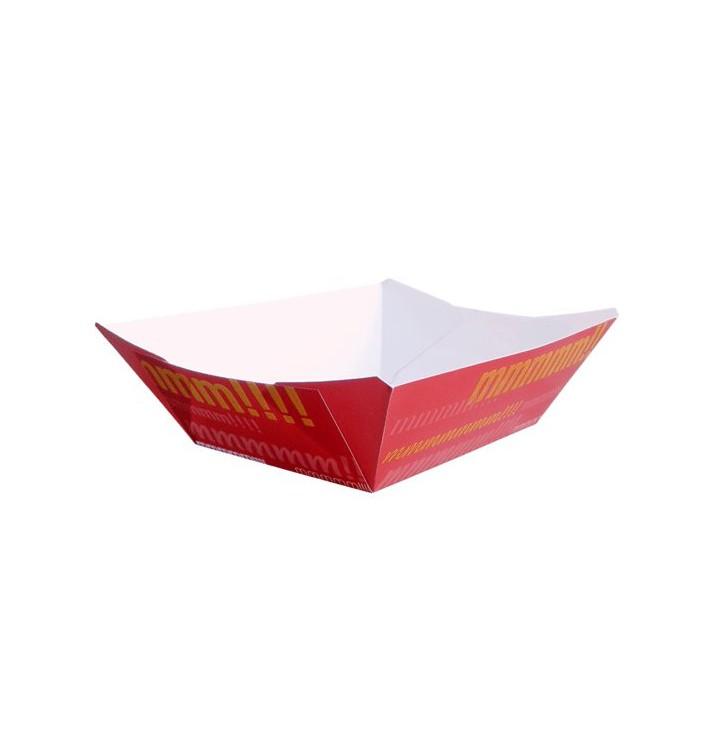 Barqueta 350ml Cartoncillo 10,6x7,3x4,5cm (25 Uds)