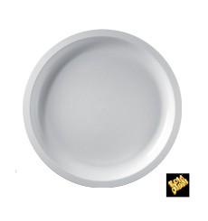 Plato de Plastico Blanco Round PP Ø290mm (300 Uds)