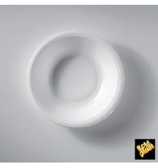 Plato de Plastico Hondo Blanco Round PP Ø195mm (50 Uds)