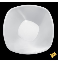 "Bol de Plástico PP Blanco ""Square"" 3000ml Ø27,7cm (3 Uds)"