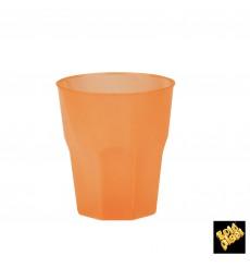 "Vaso de Plastico ""Frost"" Naranja PP 270ml (20 Uds)"