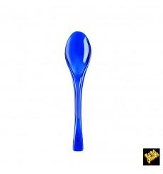 Cuchara de Plastico Fly Azul Transp. 145mm (50 Uds)