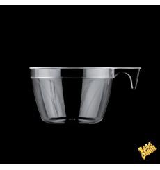 Taza de Plastico PS Cup Transparente 190ml (25 Uds)