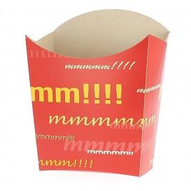 Caja para Fritas Mediana 8,2x3,5x12,5cm (500 Uds)