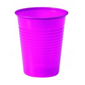 Vaso de Plastico Fucsia PS 200ml (50 Uds)