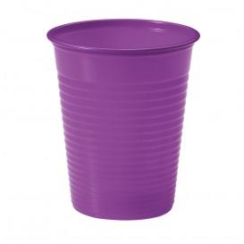 Vaso de Plastico PS Violeta 200ml Ø7cm (50 Uds)