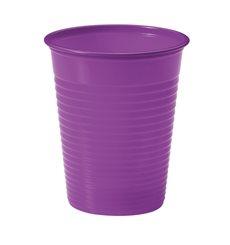 Vaso de Plastico Violeta PS 200ml (50 Uds)