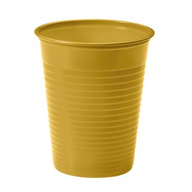 Vaso de Plastico PS Oro 200ml Ø7cm(50 Uds)