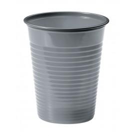 Vaso de Plastico PS Plata 200ml Ø7cm (50 Uds)